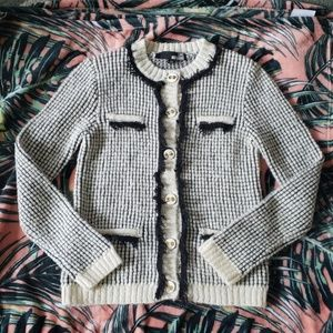 LOVE MOSCHINO Mohair Blend Sweater Size Small